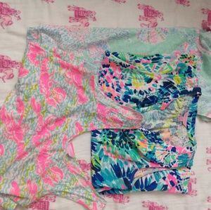 Lot of 3 Lilly Pulitzer tops